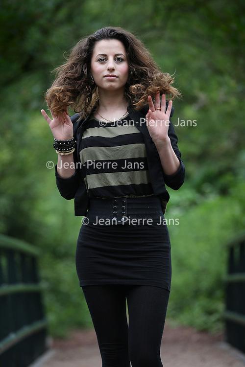 Nederland, Groningen , 31 mei 2011..Jongeren en vrijheid..Shirin Abdulkarim..Foto:Jean-Pierre Jans