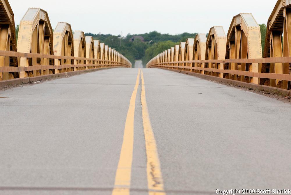 The longest pony truss bridge on Route 66. Missoula Photographer