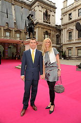 PAUL & VICTORIA STEWART at the Royal Academy of Arts Summer Party held at Burlington House, Piccadilly, London on 9th June 2010.