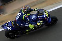 November 20, 2018 - Valencia, Spain - Valentino Rossi (46) of Italy and Yamaha Factory Racing during the test of the new MotoGP season 2019 at Ricardo Tormo Circuit in Valencia, Spain on 20th Nov 2018  (Credit Image: © Jose Breton/NurPhoto via ZUMA Press)