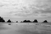 Point of Arches at Shi Shi Beach, Olympic National Park, Washington, USA.