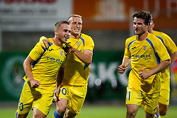 Jan Repas of NK Domzale celebrate during 1st leg match of 1st Round Qualifications for European League, on June 28, 2017 in Arena Petrol, Celje, Slovenia. Photo by Ziga Zupan / Sportida