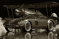 """This super-fast car is the Ferrari 250 GTO. It was introduced in 1960, and since that time it has won many races including the Monaco Grand Prix. The most striking feature of this car is the flat roof. All the other models in the series were based on the body line of the 250 GTO. However, it retained its basic design.<br /> <br /> Though its basic design is similar to that of other cars in the series, it also has some unique features like the twin side glass """"sand-cut"""" windows which are only found on the 250 GTO. The designers of this car did such an amazing job that the racing success of the car with the help of its high-speed performance has made it a hot collector's item today. Though it won several races, the engine of this car didn't have a big power but rather it had average performance. It had no real race success but still it was able to beat other vehicles in tests.<br /> <br /> The powerful V12 engine developed by Pininfarina helped it win the first ever Formula 1 race in 1960. Though production stopped after that year, the legend of the powerful Pininfarina Ferrari 250 GTO lives on. Today, you can find this car for sale in many US Car Dealers or by going online."""
