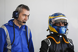 March 7, 2018 - Le Castellet, France - SERGIO SETTE CAMARA of Brazil and Carlin during the 2018 Formula 2 pre season testing at Circuit Paul Ricard in Le Castellet, France. (Credit Image: © James Gasperotti via ZUMA Wire)