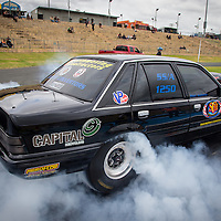 Matt Gullotto's (1250) Holden Commodore Super Sedan.