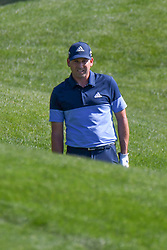 May 2, 2019 - Charlotte, NC, U.S. - CHARLOTTE, NC - MAY 02: Sergio Garcia studies the approach to the 14th green during the first round of the Wells Fargo Championship at Quail Hollow on May 2, 2019 in Charlotte, NC. (Photo by William Howard/Icon Sportswire) (Credit Image: © William Howard/Icon SMI via ZUMA Press)