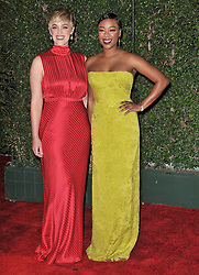 Lauren Morelli (L) and Samira Wiley at The 49th NAACP Image Awards held at the Pasadena Civic Auditorium on January 15, 2018 in Pasadena, CA, USA (Photo by Sthanlee B. Mirador/Sipa USA)