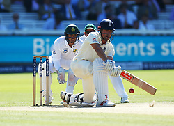 July 8, 2017 - London, United Kingdom - England's Alastair Cook .during 1st Investec Test Match Day Three between England and South Africa at Lord's Cricket Ground in London on July 08, 2017  (Credit Image: © Kieran Galvin/NurPhoto via ZUMA Press)