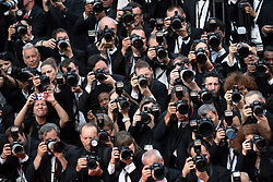 Photographers shooting during the Once Upon A Time... In Holywood Premiere as part of the 72nd Cannes International Film Festival in Cannes, France on May 21, 2019. Photo by Aurore Marechal/ABACAPRESS.COM