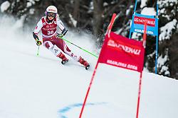 Eva-Maria Brem (AUT) during the Ladies' Giant Slalom at 57th Golden Fox event at Audi FIS Ski World Cup 2020/21, on January 16, 2021 in Podkoren, Kranjska Gora, Slovenia. Photo by Vid Ponikvar