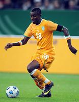 Fotball<br /> Tyskland v Elfenbenskysten<br /> Foto: Witters/Digitalsport<br /> NORWAY ONLY<br /> <br /> 18.11.2009<br /> <br /> Sekou Cisse<br /> Fussball Elfenbeinkueste