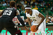 WACO, TX - DECEMBER 9: Royce O'Neale #00 of the Baylor Bears brings the ball up court against the Texas A&M Aggies on December 9, 2014 at the Ferrell Center in Waco, Texas.  (Photo by Cooper Neill/Getty Images) *** Local Caption *** Royce O'Neale