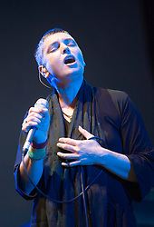 Sinéad O'Connor plays on the Pet Sounds Arena, at T in the Park, Saturday 7 July 2007..T in the Park festival took place on the 6th, 7th and 8 July 2007, at Balado, near Kinross in Perth and Kinross, Scotland. This was the first time the festival had been held over three days..Pic ©Michael Schofield. All Rights Reserved..