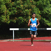 Singapore Polytechnic, Saturday, January 11, 2014 — Nabin Parajuli of Nanyang Polytechnic (NYP) struck gold in the men's 3000m steeplechase final in a time of 10 minutes 18.20 seconds at the Institute-Varsity-Polytechnic (IVP) Track and Field Championships.<br /> <br /> Story: http://www.redsports.sg/2014/01/18/ivp-3000m-steeplechase-nabin-parajuli-nanyang-poly/<br /> <br /> N.B. We will delete the gallery photos after one month to make space for newer events.