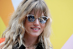 Georgia May Jagger at a photocall for Sunglass Hut in New York, June 16th 2016.