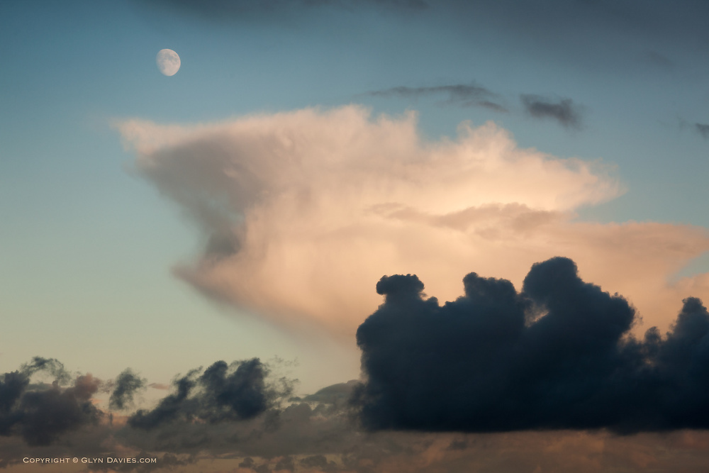 Just a wonderful moment in the skies above St Ives in Cornwall