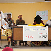AISDA District Level Conference on the FGM programme.The programme has been running for 3 months out of 12 and its time to evaluated the progress and discuss any issues. Health workers have come around the district to give their opinions and to exchange experiences.  Action for Integrated Sustainable Development Association (AISDA) work in the AFAR region of Eastern Ethiopia, based in Delafagi. The Afars practise an old tradition of Female Genital Mutilation where the baby girls has her clitoris and labia cut away and her vagina sewn up. The day before her wedding day the girl is un-stiched ready for marriage. Its a brutal and barbaric tradition which AISDA is challenging with great effect, now more than a hundred girls in Dowe district have been saved from the knife and AISDA is now rolling out the scheme in Delafagi. Delafagi is where the oldest ever human remains have been found, the found is thought to be 4.5 mill years old.