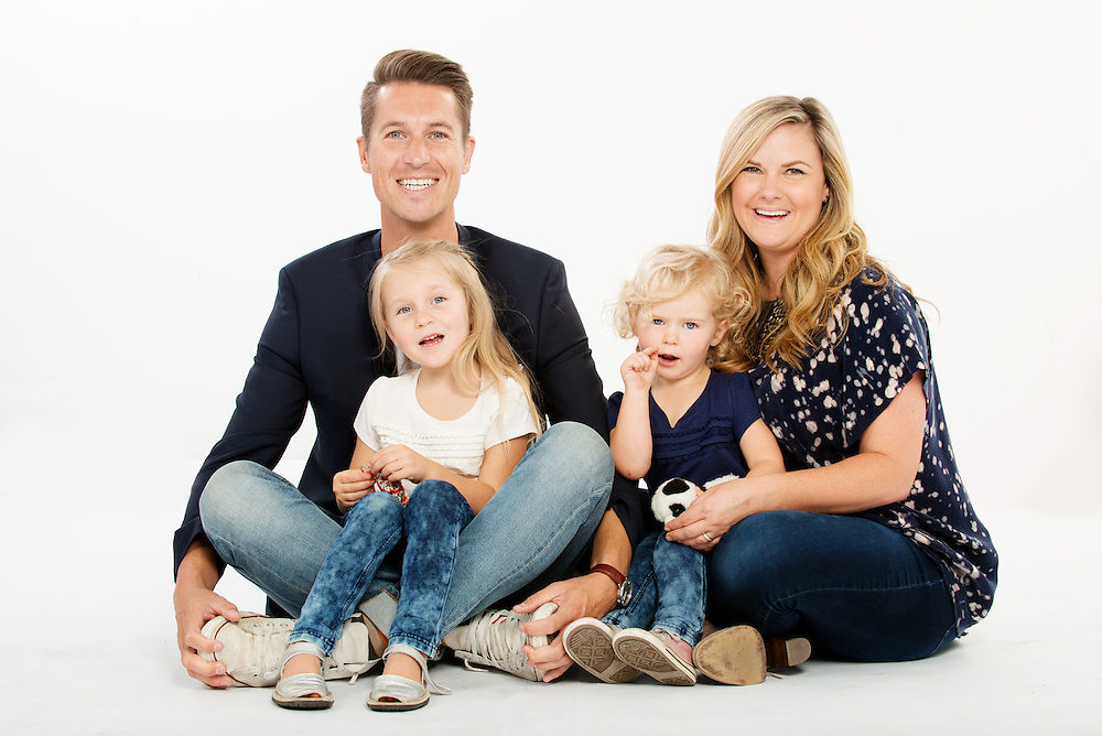Calle Holmgren and family