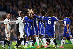 Trouble brews in the last few minuets of the match - Mandatory by-line: Jason Brown/JMP - 15/05/2017 - FOOTBALL - Stamford Bridge - London, England - Chelsea v Watford - Premier League