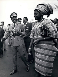 Dec. 21, 2011 - Nigeria: Gowon: Major-General Yakubu ''Jack'' Gowon, former president. Born 1934. Adjutant, Nigerian Army 1960. Adjutant-General 1966. C-in-C 1966. President of the Supreme Military Council 1967. Overthrown 1975. Mrs Victoria Gowon, his wife. Yakubu Gowon, also known as Jack Gowon (born October 19, 1934, Pankshin, Nigeria), Nigerian military leader (Credit Image: © Keystone Pictures USA/ZUMAPRESS.com)