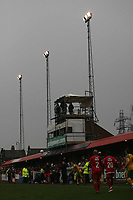 Photo: Rich Eaton.<br /> <br /> Tamworth FC v Norwich City. The FA Cup. 06/01/2007. The 2 teams play out the game in the gloom under the floodlights