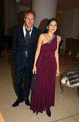 SIMON & YASMIN MILLS at a Burns Night dinner in aid of CLIC Sargent and Children's Hospice Association Scotland held at St.Martin's Lane Hotel, St.Martin's Lane, London on 25th January 2007.<br />