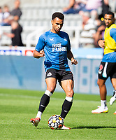 Football - 2021 / 2022 Premier League - Newcastle United vs Southampton - St Jame's Park - Saturday 28th August 2021<br /> <br /> Jacob Murphy of Newcastle United is seen during the warm up<br /> <br /> Credit: COLORSPORT/Bruce White