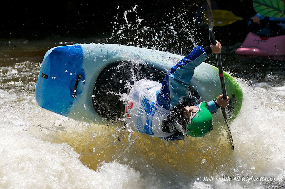 Pro Whitewater kayaking at the Lyons Festival in June 2011.