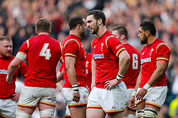 Wales Winger George North looks dejected after England Winger Anthony Watson scores a try - Mandatory byline: Rogan Thomson/JMP - 12/03/2016 - RUGBY UNION - Twickenham Stadium - London, England - England v Wales - RBS 6 Nations 2016.