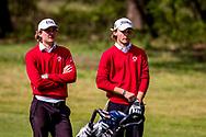 11-05-2019 Foto's NGF competitie hoofdklasse poule H1, gespeeld op Drentse Golfclub De Gelpenberg in Aalden. Foursomes:   Rosendaelsche 1 - Kiet van der Weele en Jordan Jurriëns