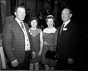 20/04/1970<br /> 04/20/1970<br /> 20 April 1970<br /> Tynagh Mines Dinner Dance at Loughrea, Co. Galway. Mr. J. Duffy, Tynagh; Mrs Duffy; Mrs Blyle and Mr. J. Blyle, Tynagh.