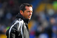 Photo: Leigh Quinnell/Sportsbeat Images.<br /> Queens Park Rangers v Hull City. Coca Cola Championship. 03/11/2007. Hull manager Phil Brown looks on.