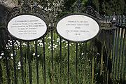 Thomas Clarkson grave church of Saint Mary, Playford, Suffolk, England, UK 1760-1846