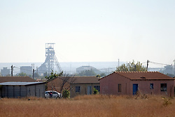 RUSTENBURG SOUTH AFRICA - MAY 18: A general view of Seraleng on May 18, 2020. in Rustenburg, South Africa. Seraleng residents gathered Sibanye k5 mine shaft Communities in the area alleged complaints of food parcel corruption by a local ward councillor. Grievances also included concerns with unemployment, loss of business and access to a social labour plan. (Photo by Gallo Images/Dino Lloyd)