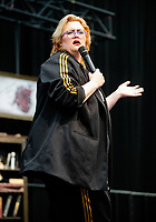 Jayde Adams AT 'LONDON'S FIRST FESTIVAL THIS SUMMER KALEIDOSCOPE TAKES PLACE AT ALEXANDRA PALACE,PHOTO BY BRIAN JORDAN