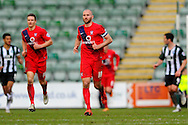York City's Russell Penn during the Sky Bet League 2 match between Plymouth Argyle and York City at Home Park, Plymouth, England on 28 March 2016. Photo by Graham Hunt.