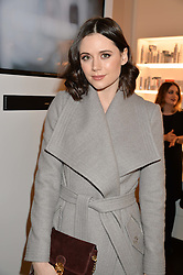 LILAH PARSONS at the launch of the Space NK Global Flagship store at 285-287 Regent Street, London on 10th November 2016.