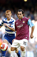 Photo: Olly Greenwood.<br />West Ham United v Reading. The Barclays Premiership. 01/10/2006. West Ham's Carlos Teves