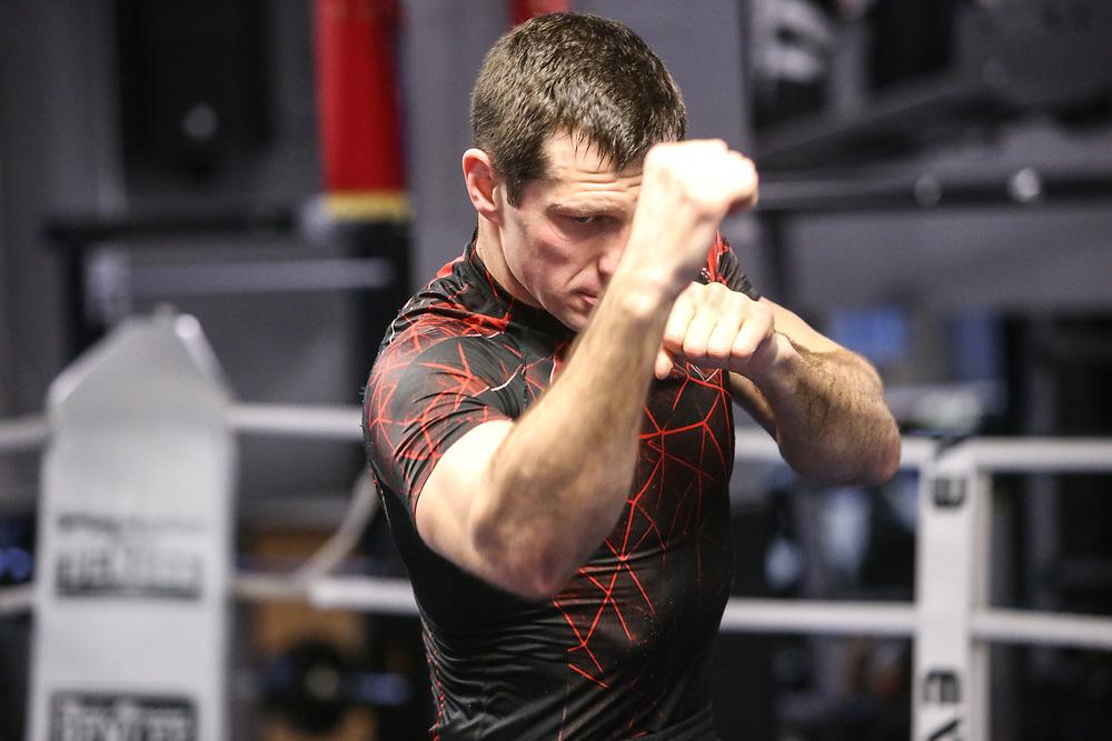BOXEN: EC Boxing, Training, Hamburg, 30.01.2020<br /> Igor Mikhalkin<br /> © Torsten Helmke