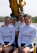 Reading, GREAT BRITAIN, GBR W4X left Francis HOUGHTON, Debbie FLOOD, Annie VERNON and Katherine GRAINGER, at the GB Rowing 2007 FISA World Cup Team Announcement, at the GB Training centre, Caversham, England on Thur. 26.04.2007  [Photo, Peter Spurrier/Intersport-images]..... , Rowing course: GB Rowing Training Complex, Redgrave Pinsent Lake, Caversham, Reading