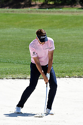 April 12, 2018 - Hilton Head Island, South Carolina, U.S. - HILTON HEAD ISLAND, SC - APRIL 12: Ian Poulter,  during the first round of the RBC Heritage on April 12, 2018 at Harbour Town Golf Links in Hilton Head Island, SC. (Photo by Theodore A. Wagner/Icon Sportswire) (Credit Image: © Theodore A. Wagner/Icon SMI via ZUMA Press)