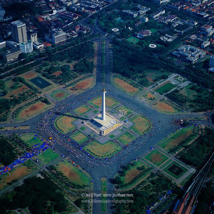 Monas / Monumen Nasional / The National Monument, Jakarta, Indonesia.