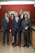 SHOT 1/8/19 12:25:06 PM - Bachus & Schanker LLC lawyers James Olsen, Maaren Johnson, J. Kyle Bachus, Darin Schanker and Andrew Quisenberry in their downtown Denver, Co. offices. The law firm specializes in car accidents, personal injury cases, consumer rights, class action suits and much more. (Photo by Marc Piscotty / © 2018)