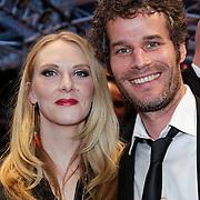 NLD/Utrecht/20121005- Gala van de Nederlandse Film 2012, Jelka van Houten en partner Koppe Koppeschaar
