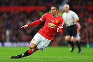 Robin van Persie of Manchester United slips - Manchester United vs. Crystal Palace - Barclay's Premier League - Old Trafford - Manchester - 08/11/2014 Pic Philip Oldham/Sportimage