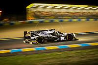 Qualifying Scott Sharp (USA) / Ed Brown (USA) / Johannes van Overbeek (USA) driving the LMP2 Extreme Speed Motorsports Ligier JS P2 - Nissan 24hr Le Mans 15th June 2016