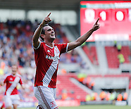 Middlesbrough v Birmingham City 090814