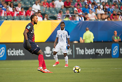 July 19, 2017 - Philadelphia, Pennsylvania, U.S - Costa Rica defender KENDALL WATSON  (24) controls the ball during CONCACAF Gold Cup 2017 action at Lincoln Financial Field in Philadelphia, PA.  Costa Rica defeats Panama 1 to 0. (Credit Image: © Mark Smith via ZUMA Wire)