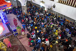 April 14, 2018 - Srinagar, J&K, India - Sikh pilgrims attend rituals during the Baisakhi festival in Srinagar, Indian administered Kashmir. Baisakhi, marks the Sikh New Year and is also celebrated as harvest festival in many northern states of India. (Credit Image: © Saqib Majeed/SOPA Images via ZUMA Wire)