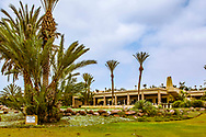 08-10-2015 -  Foto van Clubhuis bij Golf du Soleil in Agadir, Marokko. De 36 holes van Golf du Soleil werden ontworpen door Fernando Muela en Gerard Courbin.